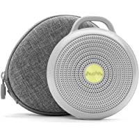 Yogasleep Hushh + Travel Case Portable White Noise Machine for Baby | 3 Soothing, Natural Sounds with Volume Control…
