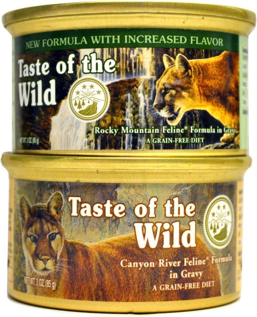 Taste of the Wild Cat Food Variety Pack Box
