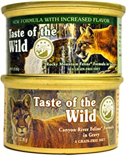 product image for Taste of the Wild Cat Food Variety Pack Box