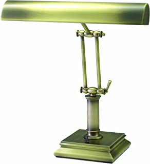 "product image for House of Troy P14-201-AB Portable Desk/Piano Lamp, 14"", Antique Brass"