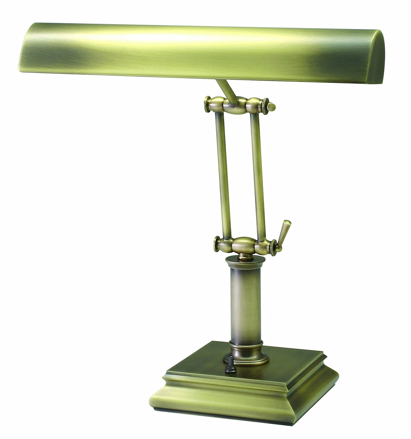 Contemporary Desk Lamps House Of Troy P14 201 14 Inch Portable Desk Piano  Lamp Polished