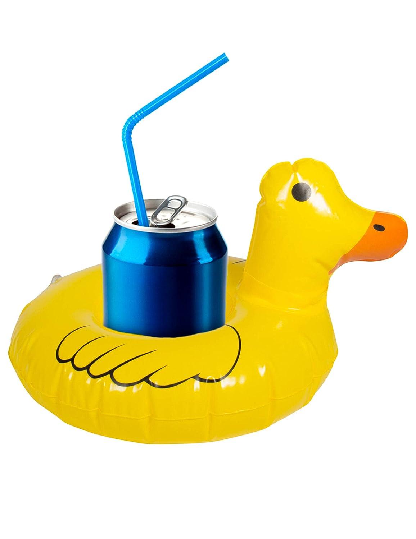 Folat 20292 - Portavasos hinchable con forma de pato, color ...