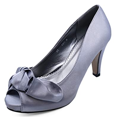 LADIES BEIGE DIAMANTE PEEP-TOE SLIP-ON SMART COURT WORK EVENING SHOES SIZES 3-7