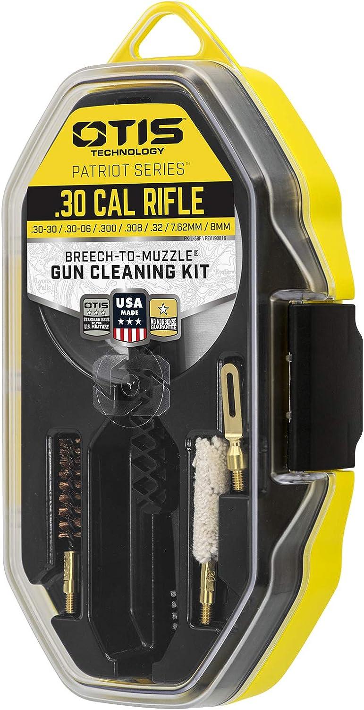 Unisex Adulto Small Otis Technology 30 Cal Patriot Series Rifle Kit de Limpieza Negro