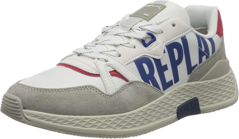 REPLAY Hybrid-Wellesley, Zapatillas para Hombre: Amazon.es: Zapatos y complementos