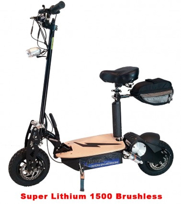 Amazon.com: Super ciclos y scooters – Super de litio 1500 ...
