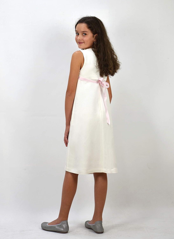 56cd8b6749a0 Verasposa® Robe de Communion Fille Fiona
