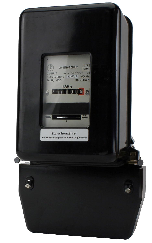 Unitec  41741 Compteur /électrique Triphas/é Import Allemagne