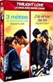 Coffret 2 comédies romantiques: 3 mètres au-dessus du ciel (Twilight love) + J'ai envie de toi (Twilight love 2)