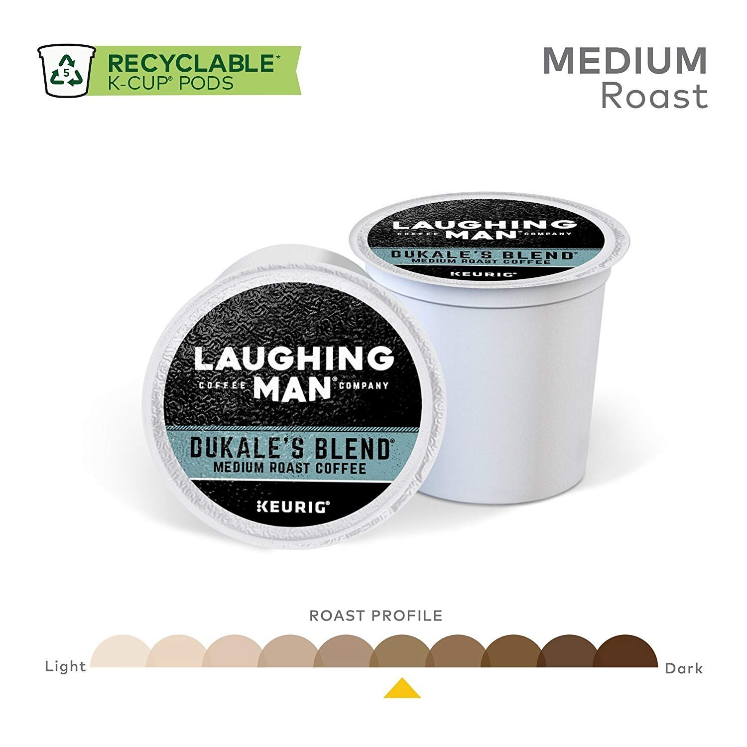 Laughing Man Dukale's Blend Coffee Keurig K-Cups, 96 Count by Laughing Man (Image #4)