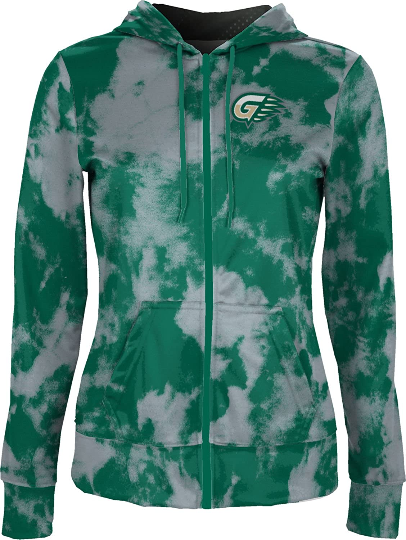 School Spirit Sweatshirt Grunge Georgia Gwinnet College Girls Zipper Hoodie
