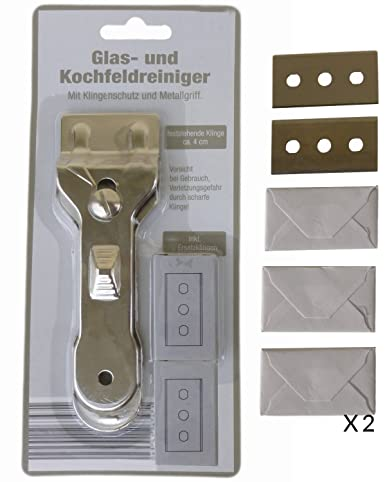 Reinigungsschaber Glasschaber Kochfeldschaber Schaber Ceranfeldschaber