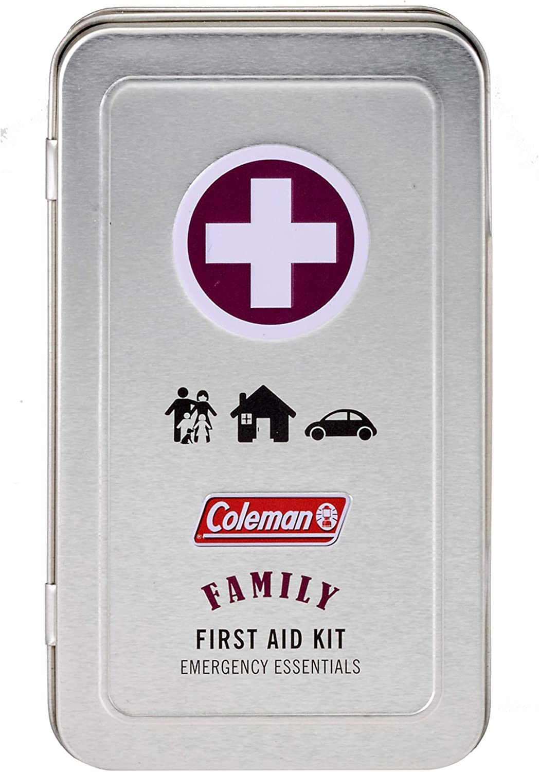 Coleman Family Size Emergency First Aid Kit - 82 Pieces