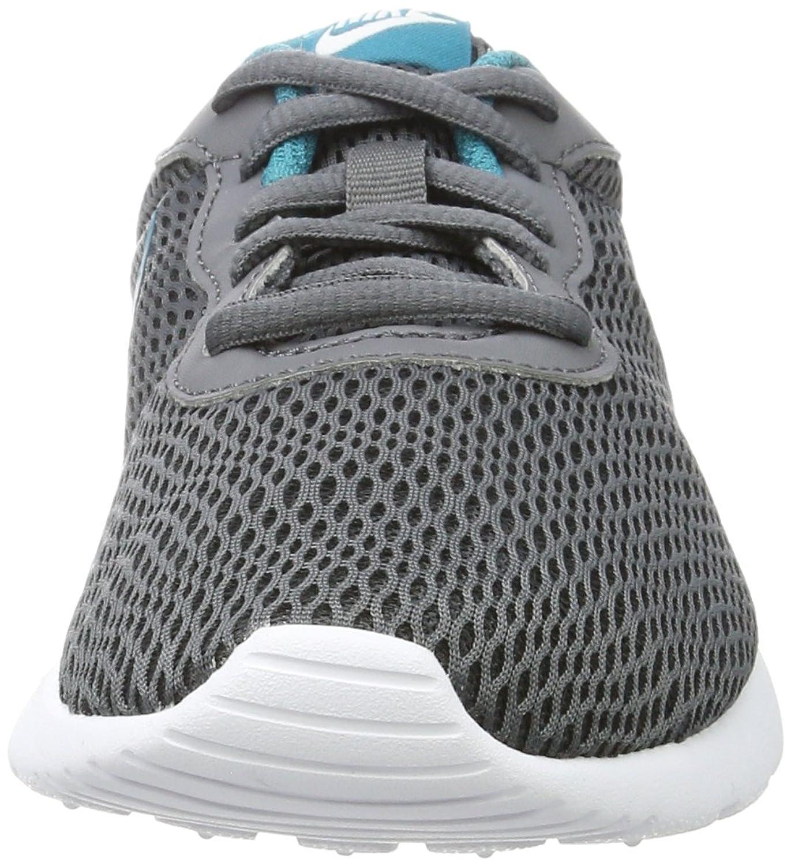 Nike Mädchen Tanjun BG Gymnastikschuhe, Schwarz (Dark Grey/Blustery/White), 38.5 EU