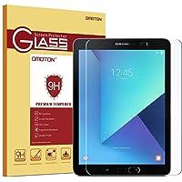 OMOTON Panzerglas Schutzfolie für Samsung Galaxy Tab S2 9.7 und Samsung galaxy Tab S3 mit [9H Härte][ Anti-Kratzen][Kristall-klar][Bläschenfrei zu Montage][lebenslange Garantie]