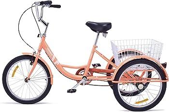 Viribus Adult Three Wheel Recumbent Bike