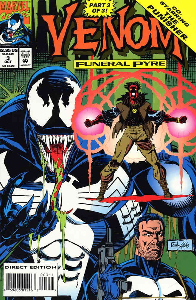 Venom: Funeral Pyre #3 FN ; Marvel comic book