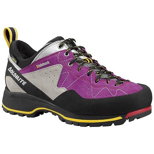 b0db4d294d605 Dolomite Men's 85573700 Trekking Shoe Capricorn Low GTX Black/Silver:  Amazon.co.uk: Shoes & Bags