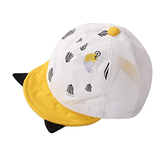 db405f981 Connectyle Baby Infant Cotton Baseball Cap Toddler Boys UV Protection Sun  Hat Cap