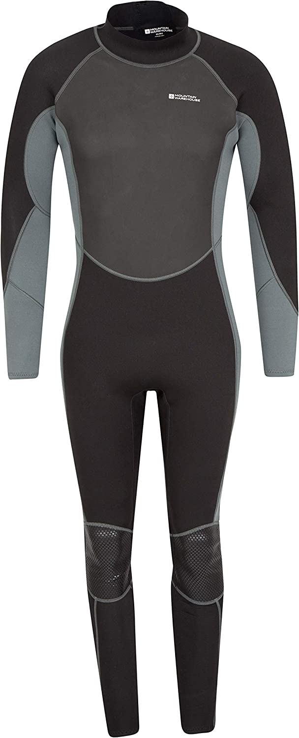 Mountain Warehouse Mens Full Wetsuit - Neoprene Contour Fit