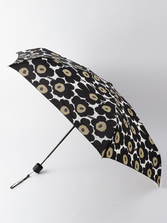 (ビューティ&ユース ユナイテッドアローズ) <marimekko>UNIKKO 折り畳み傘¨ 18424580650 B0749B6QZ9  BLACK(09) Free