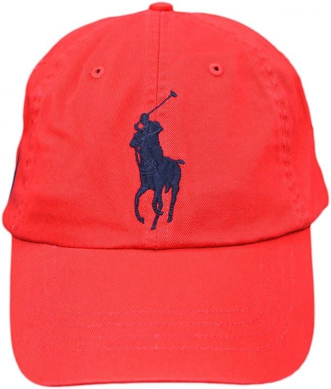 Ralph Lauren - Polo Gorra - Target Red: Amazon.es: Ropa y accesorios