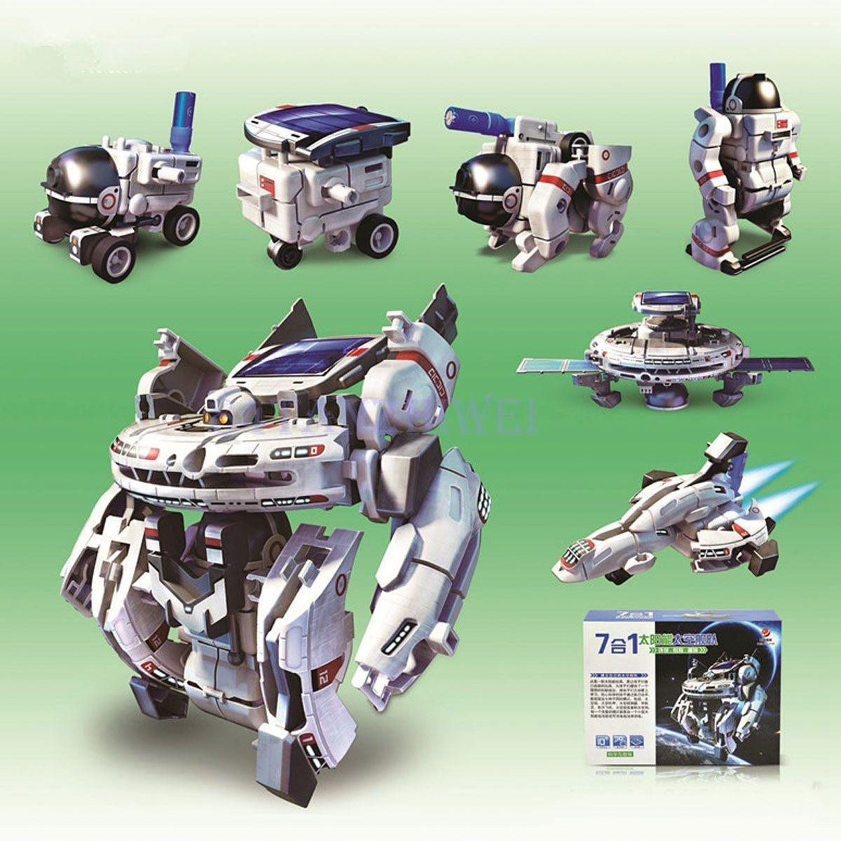Electr/ónica Rey 14 en 1 Robot Solar Juguete Educativo de Rob/ótica