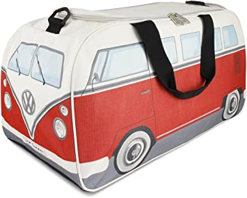 Volkswagen Samba Bus T1 School BRISA VW Collection L//Red Travel Backpack