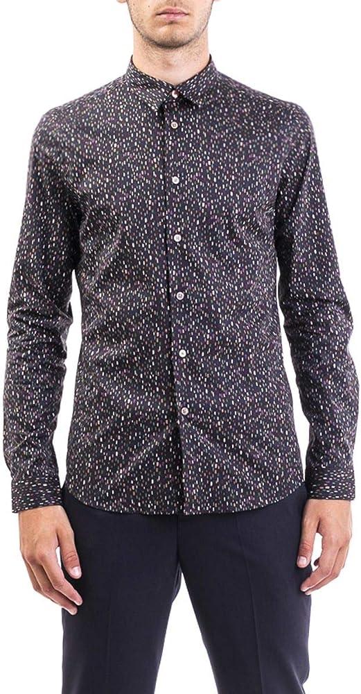 PS by Paul Smith Luxury Fashion Hombre M2R433RA2064079 Negro Camisa   Otoño-Invierno 19: Amazon.es: Ropa y accesorios