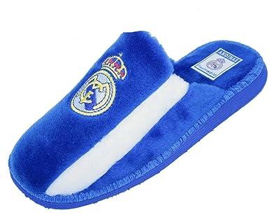 Zapatillas Real Madrid C.F de estar por casa Nº 40: Amazon.es: Zapatos y complementos