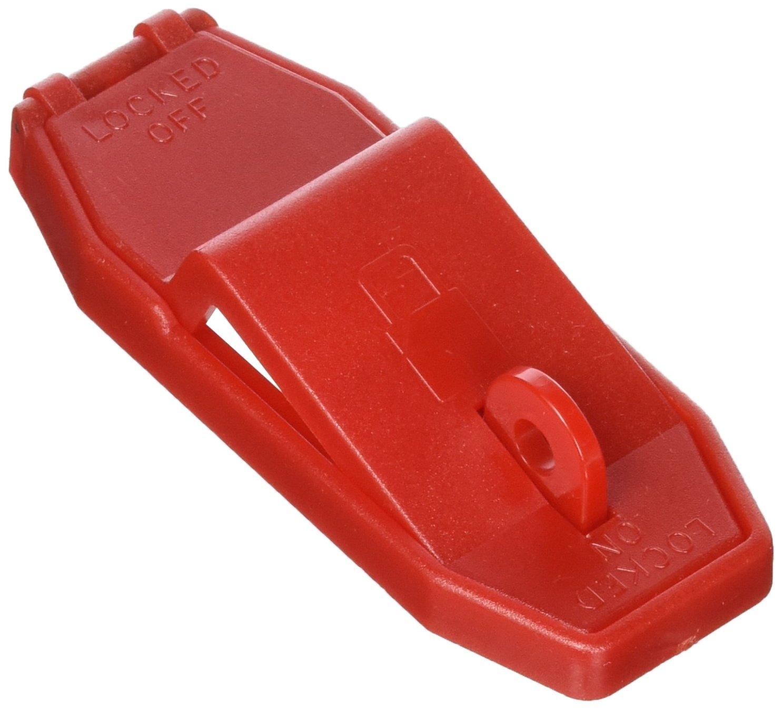 Panduit PSL-WS1A Toggle/Rocker Switch Lockout, Red