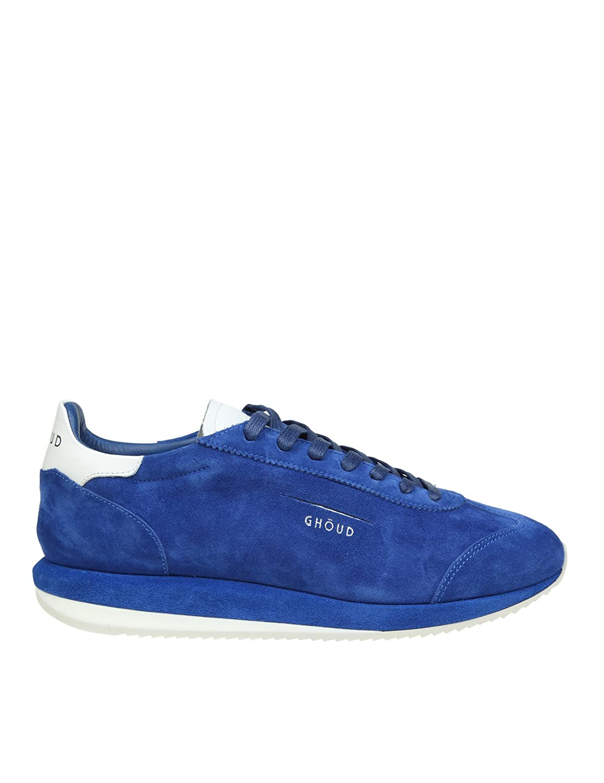 Ghoud メンズ G01MSLLW ブルー セーム 運動靴 B07B2JF15B