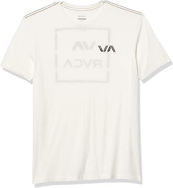 RVCA Mens Inside Out Short Sleeve Crew Neck T-Shirt
