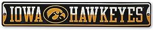 """Open Road Brands NCAA Collegiate University 30""""x5"""" Metal Sign"""