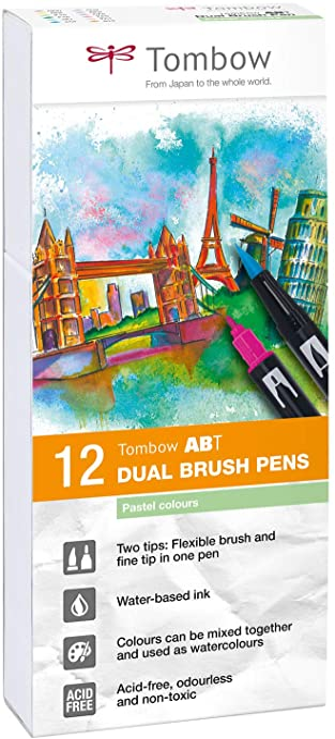 Le aquarelles Brush Marker 12er Set-Set 3
