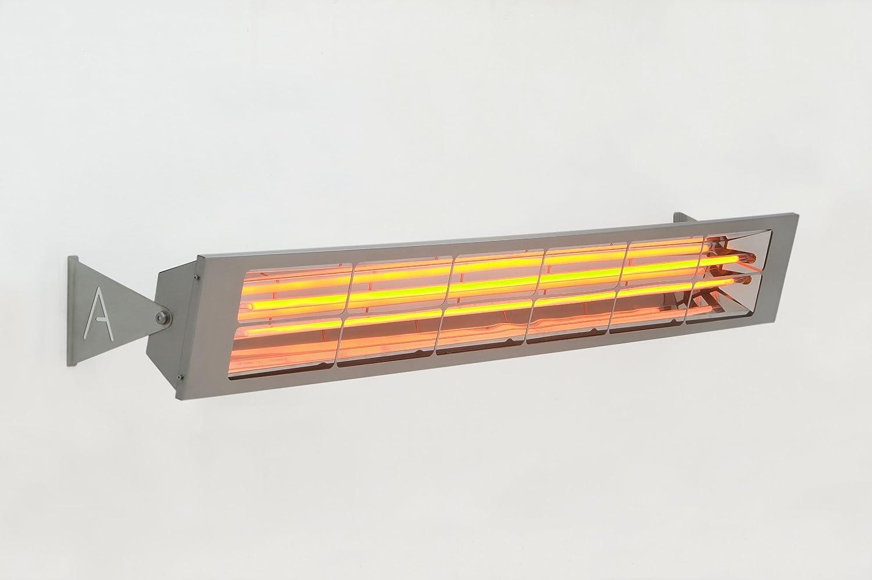 Alfresco heizstrahler–alf60doppio elemento con 156cm di lunghezza, mittelwelliger elettrico riscaldamento a infrarossi, con 6Kilowatt con 6Kilowatt Alfresco Heaters Ltd