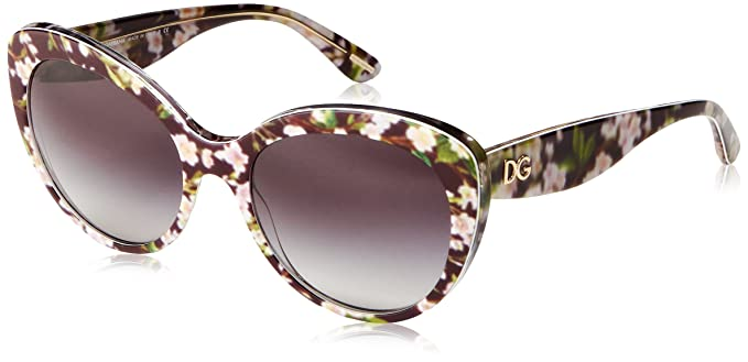Dolce & Gabbana DG4236 Almond Collection Gafas de sol, Negro ...