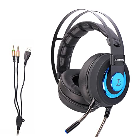 Auriculares Cascos Gaming Asnlove 3.5mm Headset Gamer con ...