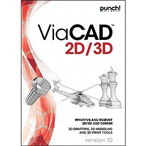 Punch! ViaCAD 2D/3D v10 for