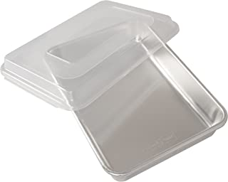 product image for Nordic Ware Natural Aluminum Commercial Cake Pan with Lid, Rectangle Pan with Lid Silver, 9 x 13