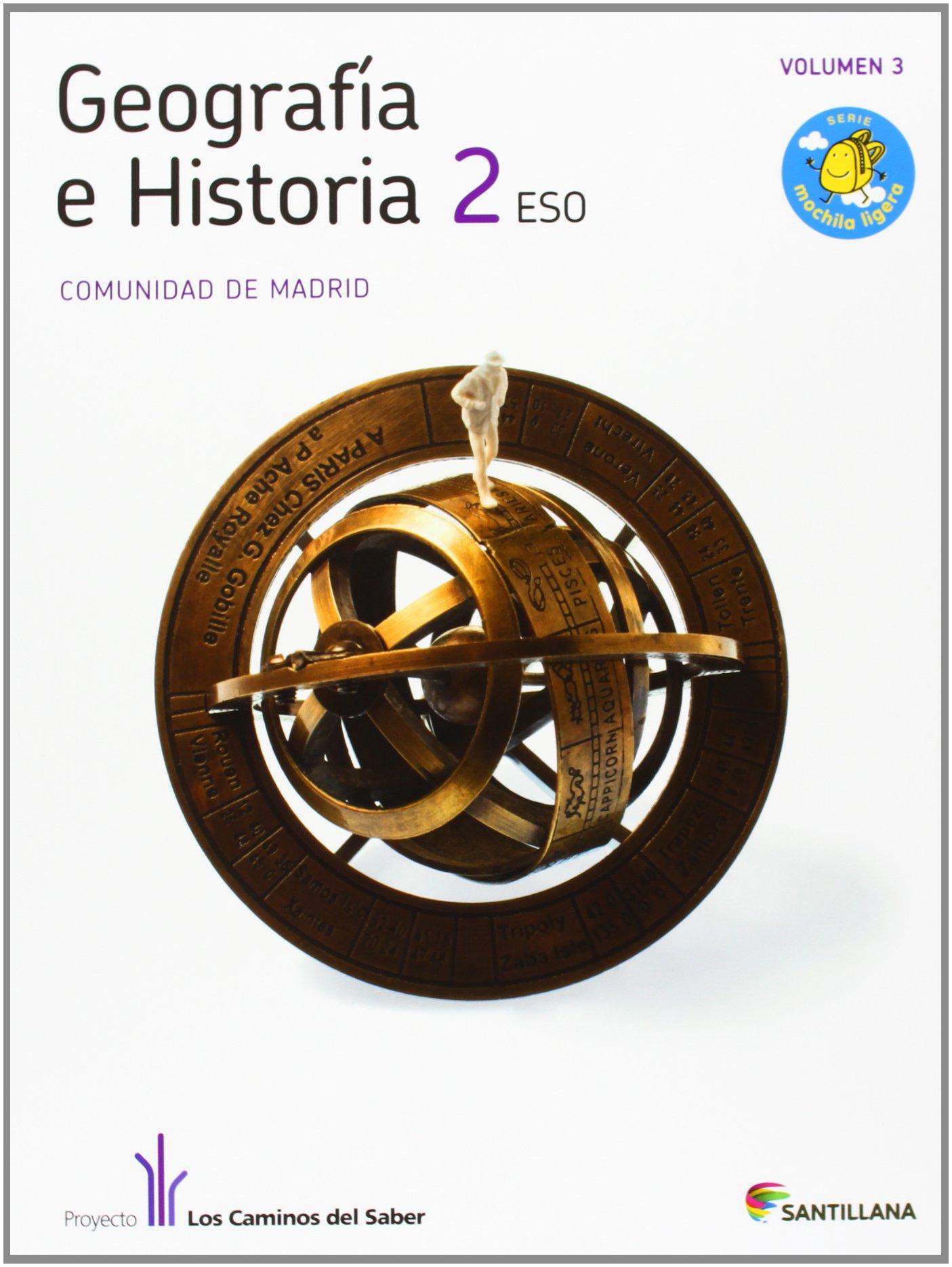 GEOGRAFIA E HISTORIA MADRID 2 ESO M LIGERA LOS CAMINOS DEL SABER: Amazon.es: Vv.Aa.: Libros