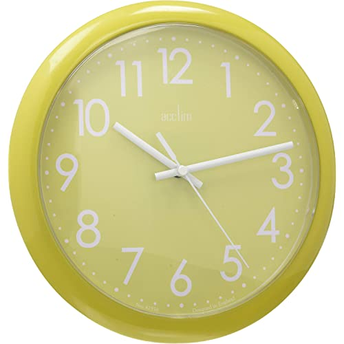 Acctim Abingdon Lime Green Wall Clock