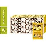 MadeGood Chocolate Banana Granola Minis; 28 Count of Rich Dark Chocolate, Ripe Banana Granola Minis