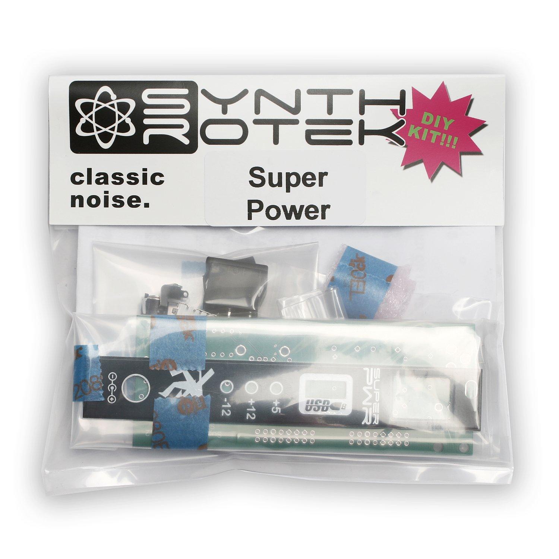 Super Power ''Green'' DIY Kit Eurorack 3U Module by Synthrotek
