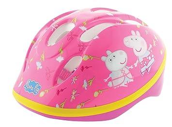 Peppa Pig - Casco de seguridad, Casco de seguridad, Hombre, color rosa, tamaño 48-52 cm: Amazon.es: Deportes y aire libre