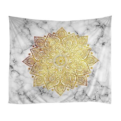 Amazon.com: Xinhuaya Marble Pattern Tapestry Wall Room Decor ...
