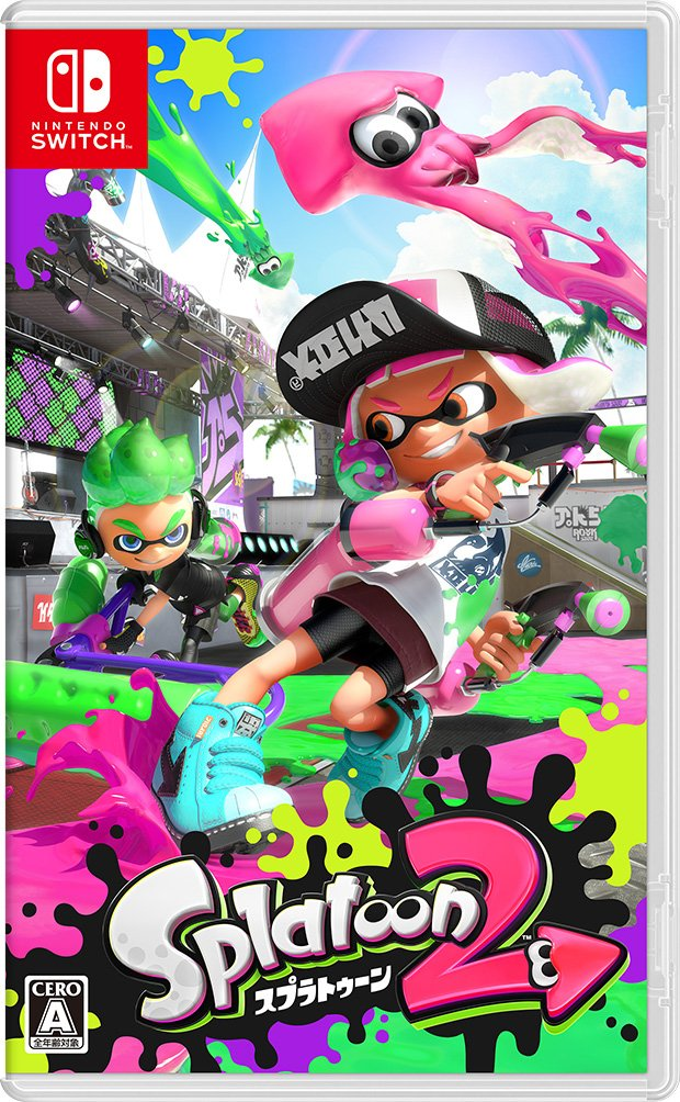 Japanese Learning Resources: Learning Japanese through Video Games - Splatoon 2