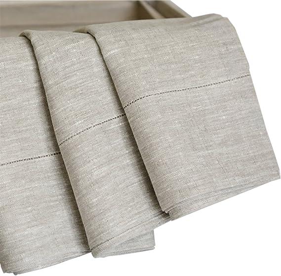 28.5 x 59 Beach Pool or Sauna 100/% Natural Linen Antibacterial Classic Thick Waffle Weave Organic Flax Linen Bath Towel
