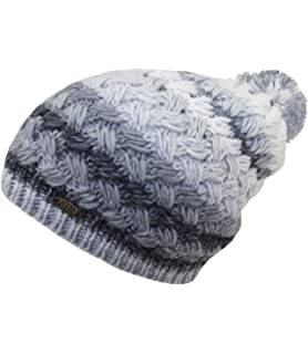 67ce2d5b643 EveryHead Fiebig Men s Poodle Hat Bobble Pompom Knit Beanie Winter for Men  (FI-54655