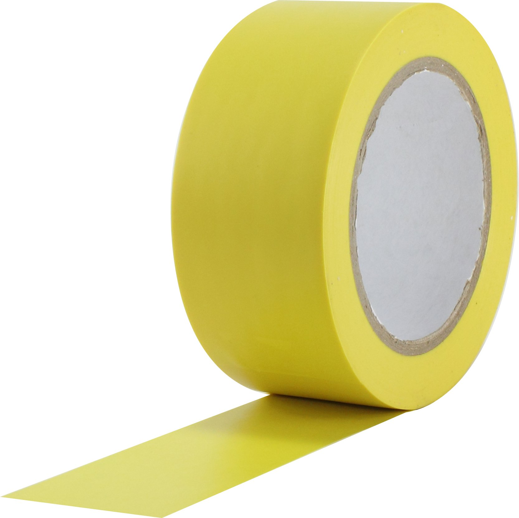 ProTapes Pro 50 Premium Vinyl Safety Marking and Dance Floor Splicing Tape, 6 mils Thick, 36 yds Length x 3'' Width, Yellow (Pack of 1)